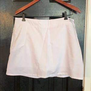 FILA white athletic skirt skirt large